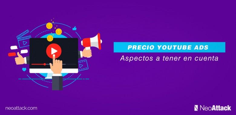 precio youtube ads