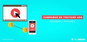 Campañas de Youtube Ads: Ventajas y formatos de vídeos