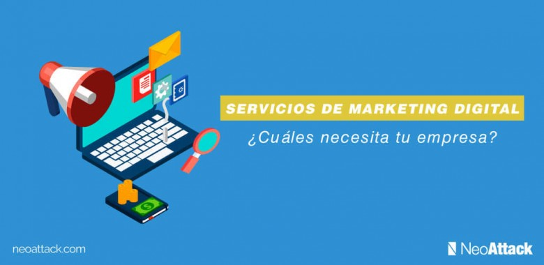 ofertas de servicios de marketing digital
