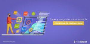Ideas y preguntas clave sobre la creación de páginas web