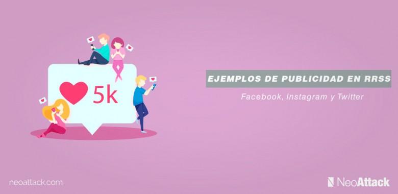 ejemplos de publicidad en redes sociales