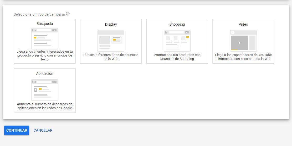 crear campañas Google Ads