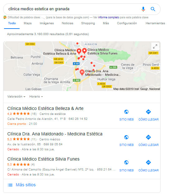 ficha en google my business