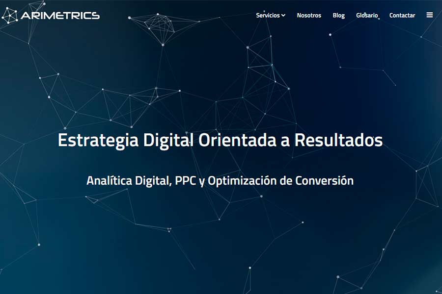 analisis web online