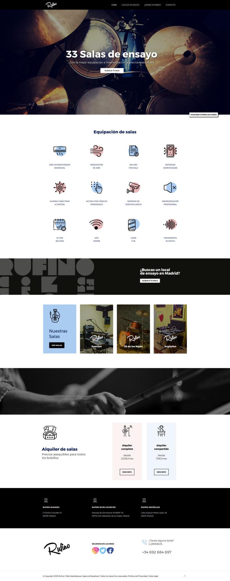 web empresa de ensayo