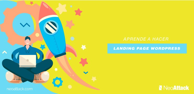 landing page en wordpress