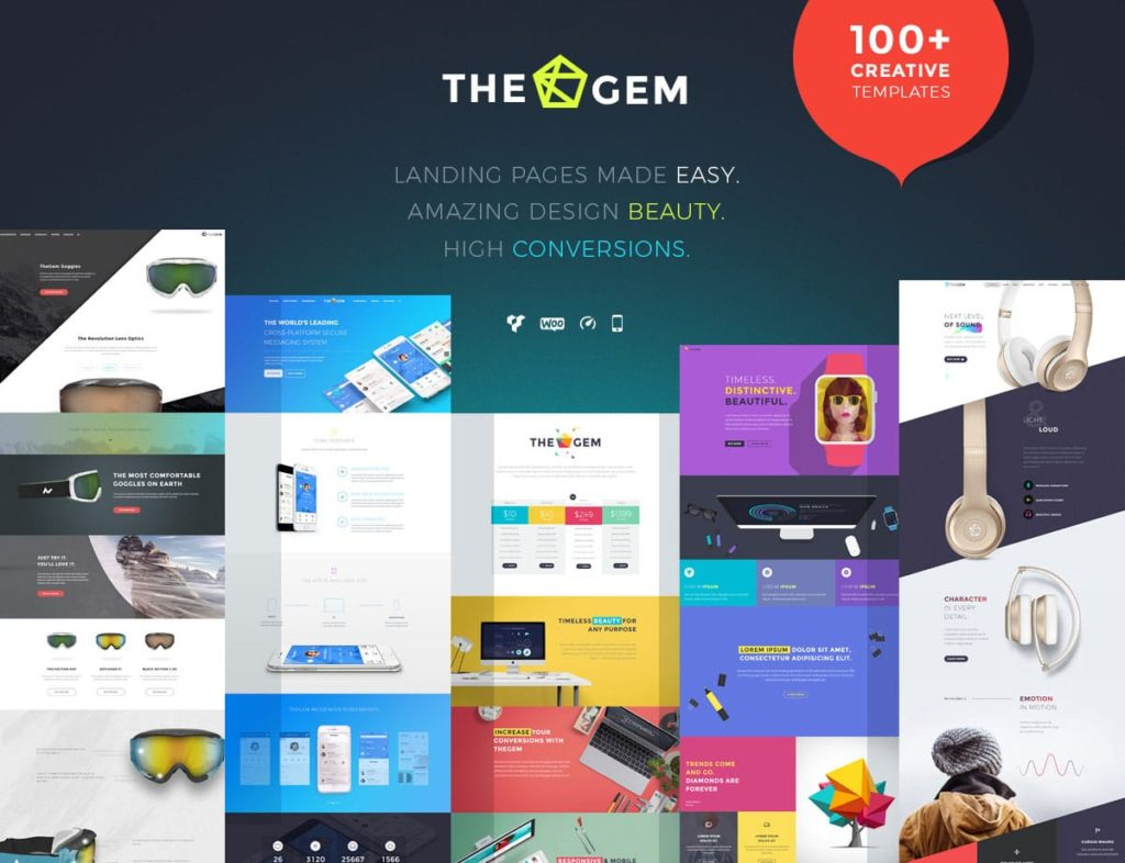 lading-page-thegem-wordpress