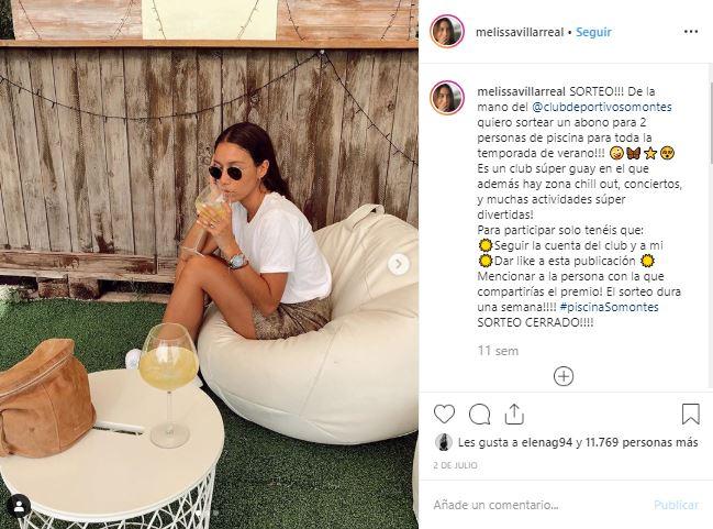 Campaña Influencer Melissa Villareal - CD Somontes