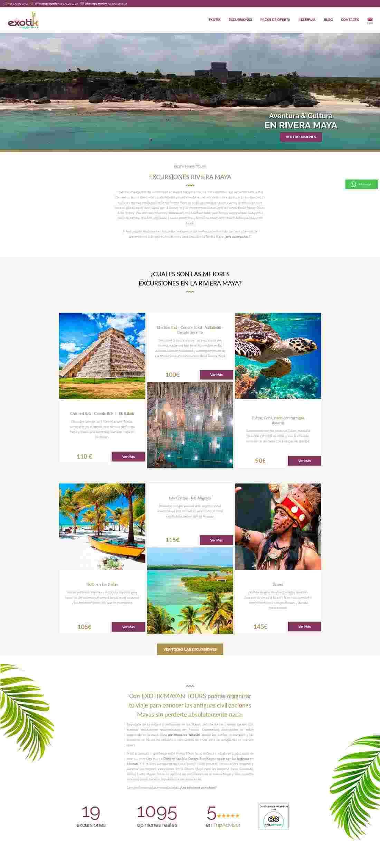diseño homepage