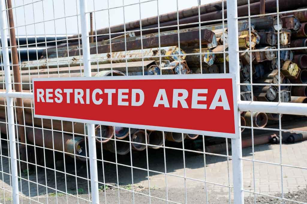 Area-restringida