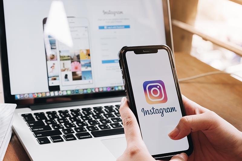instagram en móvil y ordenador