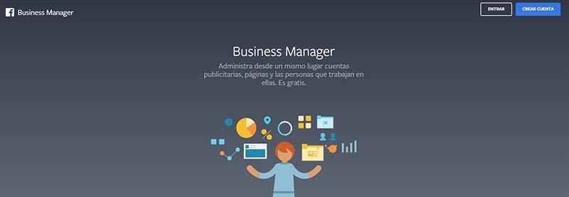 Registro en Business Manager
