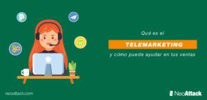 Qué es el telemarketing y cómo puede ayudar a aumentar las ventas
