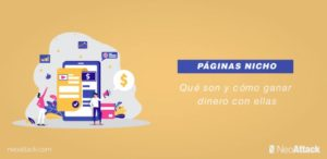 Páginas nicho: Qué son y cómo ganar dinero con ellas