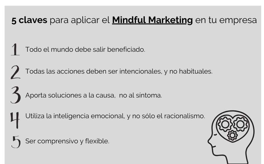 Claves del mindful marketing