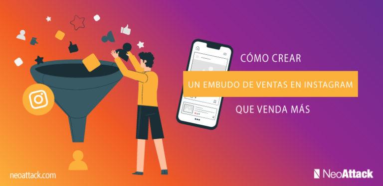 Plantilla para Embudo de ventas en Instagram
