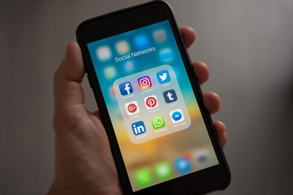 redes sociales más utilizadas en los negocios