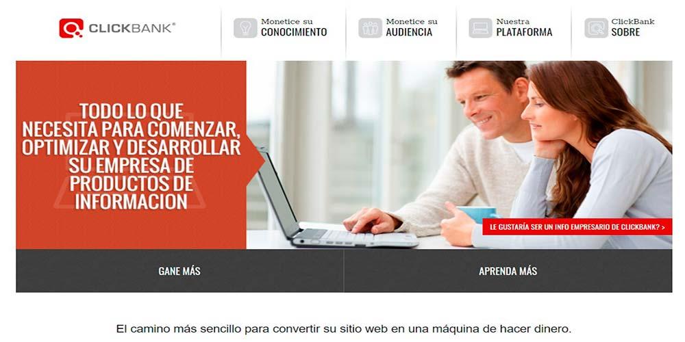 Marketing de afiliados de Clickbank