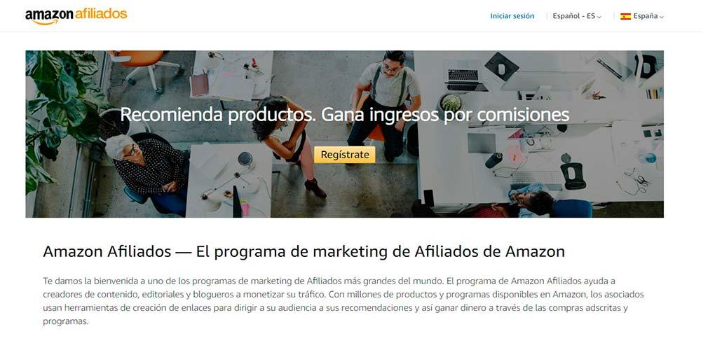 Marketing de afiliados de Amazon